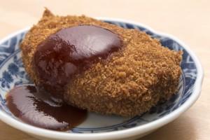 「源の鶏コロッケ」 200円