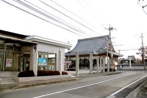 写真は鶴崎森町支店の向いにある浄土真宗 専想寺