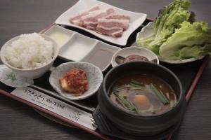ランチ「うさとら定食」1,150円